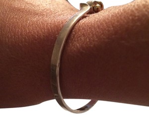 Tiffany & Co. Tiffany,&,Co.,Sterling,Silver,&,18kt,Gold,Hook,Bracelet