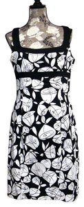 Evan Picone short dress Black & White on Tradesy