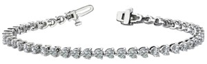 Avi and Co 7.00 cttw Round Brilliant Cut Three Prong Diamond Tennis Bracelet