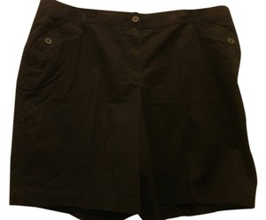 Just My Size Dress Shorts Black