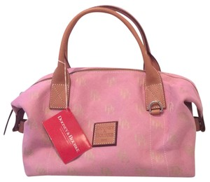 Dooney & Bourke Satchel in Dusty Pink
