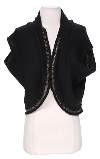 new Elie Tahari Beaded Shrug Cotton Silk Blend Sweater - 78% Off Retail