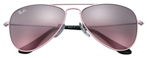 Ray-Ban NEW! Kids Aviator Sunglasses, Pink/Pink Gradient, 50mm