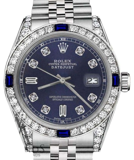 Preload https://img-static.tradesy.com/item/18418774/rolex-ladies-26mm-datejust-navy-blue-dial-with-sapphire-and-diamond-watch-0-1-540-540.jpg