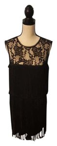 Xscape Retro Twenties Flapper Tassel Dress