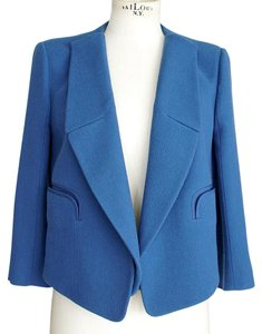 Chloé Chloe Convertible Short Blue Jacket