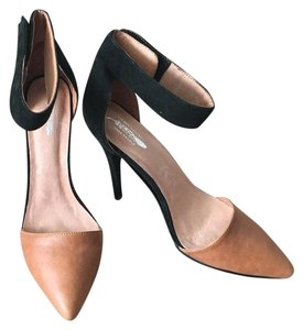 Jeffrey Campbell for Free People Black and Brown Pumps