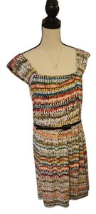 Max and Cleo short dress Multi Tribal Sheath Colorful Easy on Tradesy