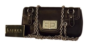 Lauren Ralph Lauren Chain Metal Bold Punk Contrast Shoulder Bag