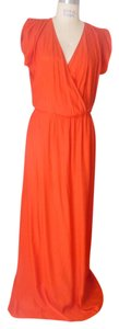 Red Maxi Dress by Parker Silk