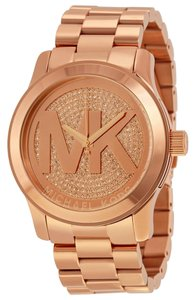 Michael Kors Michael Kors Women's Runway Rose Gold Bracelet Watch MK5661