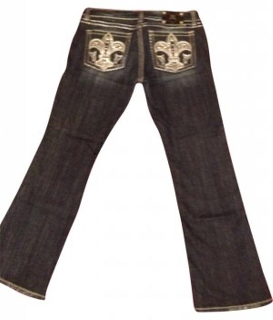 Preload https://item1.tradesy.com/images/miss-me-distressed-boot-cut-jeans-size-32-8-m-184200-0-0.jpg?width=400&height=650
