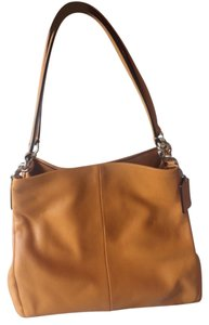 Coach Orange Summer Hobo Bag