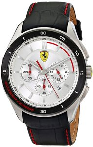 Ferrari Ferrari Men's 0830186 Gran Premio Analog Display Quartz Black Watch