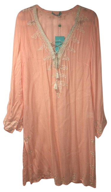 Item - Peach Denise Kaftan Cover-up/Sarong Size OS (one size)