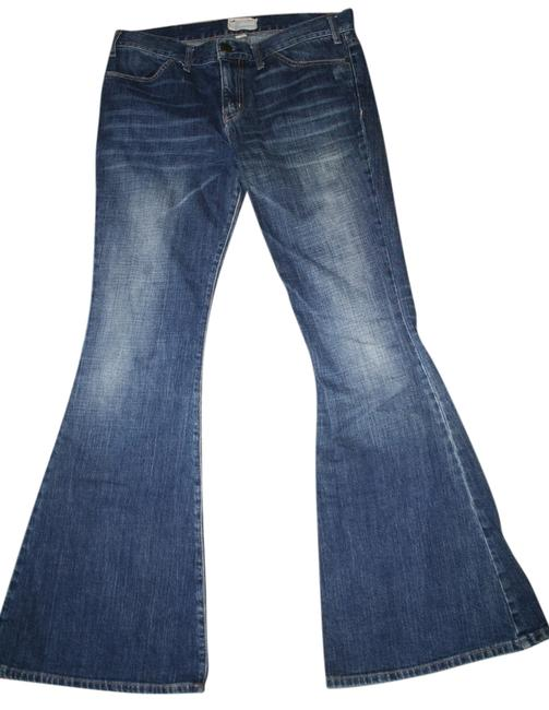 Item - Blue Medium Wash Elephant Flare Leg Jeans Size 29 (6, M)