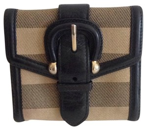 Burberry Burberry House Check Compact Wallet