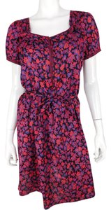 Marc by Marc Jacobs short dress Red Floral on Tradesy