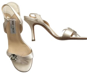 Jimmy Choo Ivory Pumps
