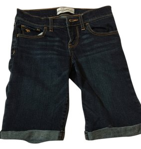 Abercrombie & Fitch Kids Capri Capri/Cropped Denim-Dark Rinse