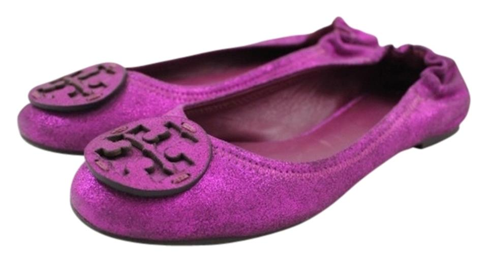 MISS Tory Burch Fuscia Reva Flats Highly praised and appreciated consumers by the audience of consumers appreciated e57c60