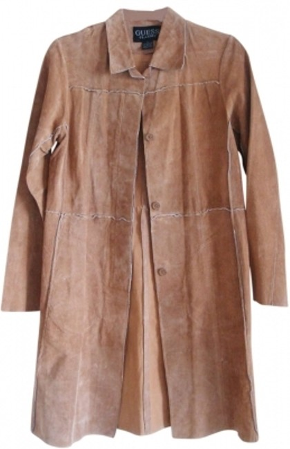 Preload https://item5.tradesy.com/images/guess-brown-women-suede-trench-coat-s-4-leather-jacket-size-2-xs-184224-0-0.jpg?width=400&height=650