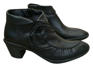 Rieker Leather Black Boots
