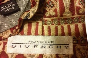 Givenchy Givenchy Silk Tie U.S.A.
