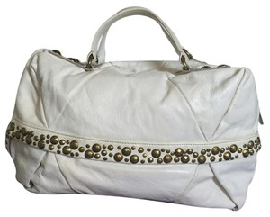 Kooba Satchel in Cream