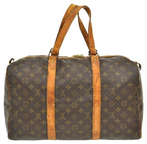 Louis Vuitton Boston Monogram Brown Travel Bag