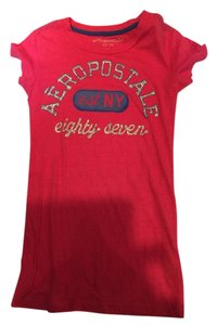 Aeropostale Areopostale Women's T Shirt Pink