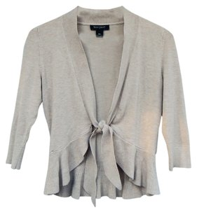 White House | Black Market Natural Oatmeal Brown Light Sweater
