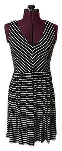 Ann Taylor LOFT short dress Black, on Tradesy