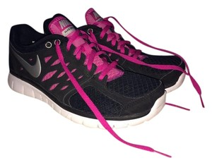 Nike Running Shoe Black Pink White Magenta Athletic