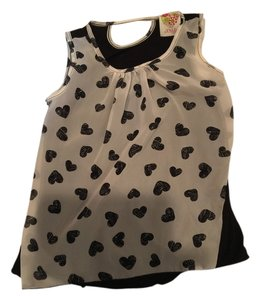 Kiddo Kids Black and White Halter Top