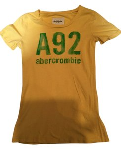 Abercrombie & Fitch Women's T Shirt Yellow