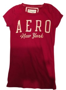 Aeropostale Women's Tee T Shirt Red