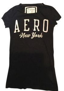 Aeropostale Women's Tee T Shirt Black