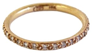 Doris Panos 14K Rose Gold Diamond Pave Ring