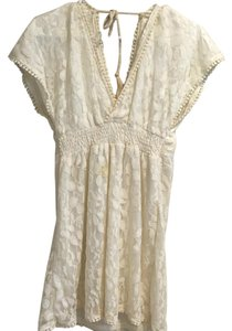 Other short dress White/cream on Tradesy