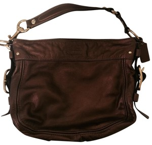 Coach Zoe Leather Hobo Bag