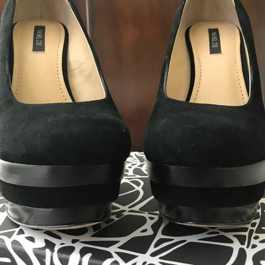 Rachel Zoe Black Wedges