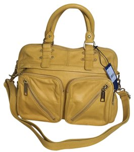 Rebecca Minkoff Satchel in Butter Yellow