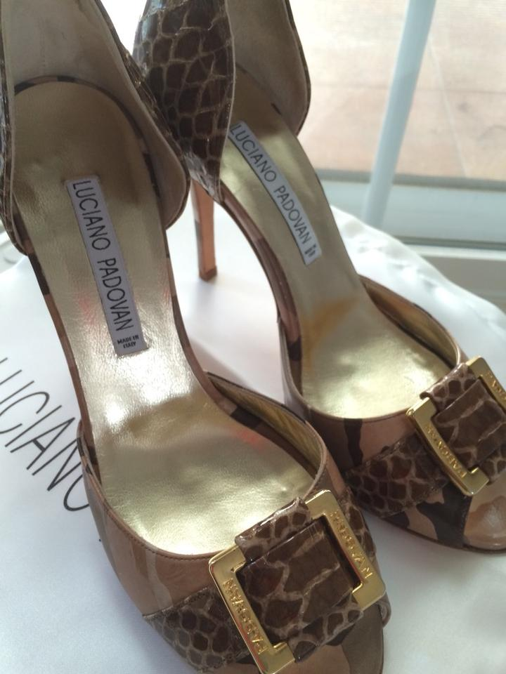 Luciano Padovan Beige Pumps #1080 D'orsay. Size 6.5 63% Off   Tradesy