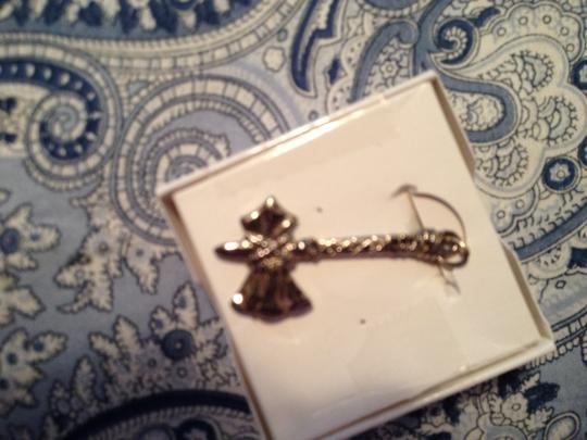 Other Silver Tomahawk Charm, On one side it has a ting penny embedded in it;Very Unusual Charm, RARE