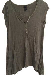 H&M T Shirt Olive, green