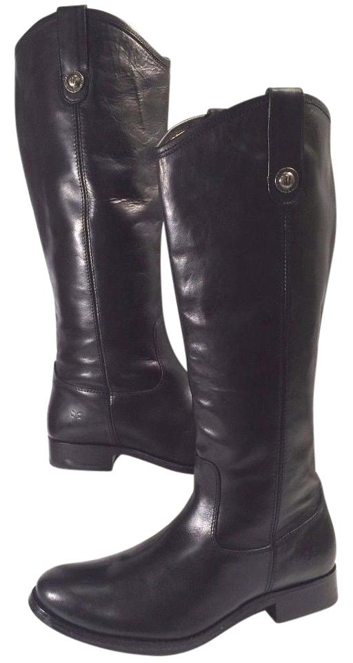 1be592dcecd Frye Black Melissa Button Boots/Booties Size US 6.5 Regular (M, B) 56% off  retail