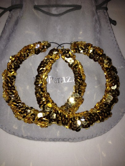 Poparazzi Gold Poparazzi Earrings ( Basketball Wives LA )