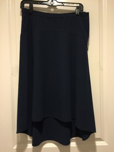 Ann Taylor Skirt navy blue