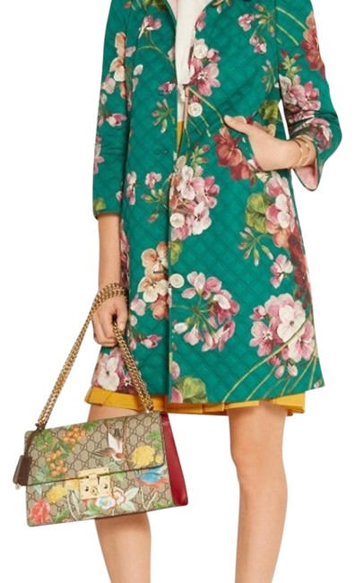 Item - Jade & Floral Blooms Collection Jacket Size 4 (S)